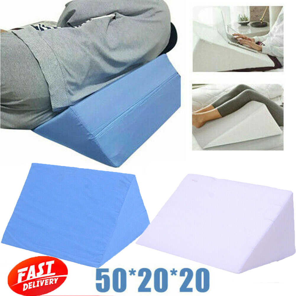 multi function orthopaedic leg raise acid reflux pillow solid color foot rest bed wedge support cushion