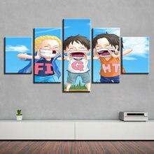 Аниме три брата с 5 шт Современный домашний декор для стен canvaspicture