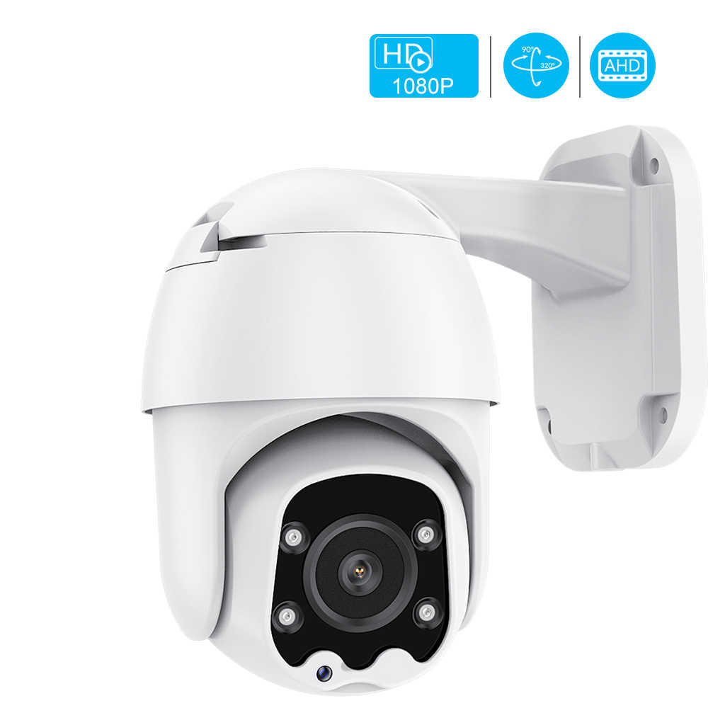 Ahd Camera 4 Array Leds 1080P Ahd Speed Dome Camera Ir Nachtzicht Ahd Ptz Cctv Surveillance Camera Xm xvi Coaxiale Controle