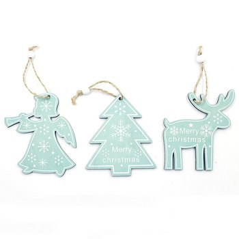 Christmas Angel Fawn Pendant Painted Letters Pendant Christmas Tree Decoration Pendant Festival Ornament cute angel doll christmas decoration pendant 2020 christmas tree hanging ornament christmas decoration for home xmas navidad