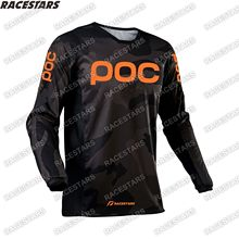 POC Enduro Motocross Jersey Racing Downhill Mountain MTB Jersey Motorcycle Shirt MX Bike Bicycle Wear Maillot Ciclismo Hombre DH