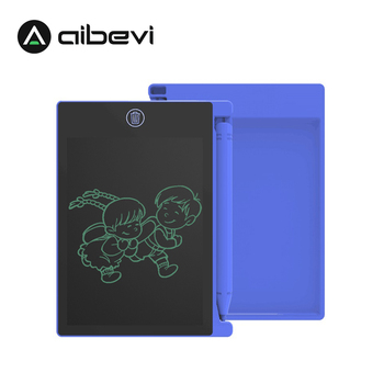 Aibevi LCD Writing Tablet 4.4 Inch Electronic Digital Electronic Graphics Drawing Board Doodle Pad with Stylus pen Gift for kids xp pen star05 wireless 2 4g graphics drawing tablet pad painting board with touch hot keys and battery free passive stylus