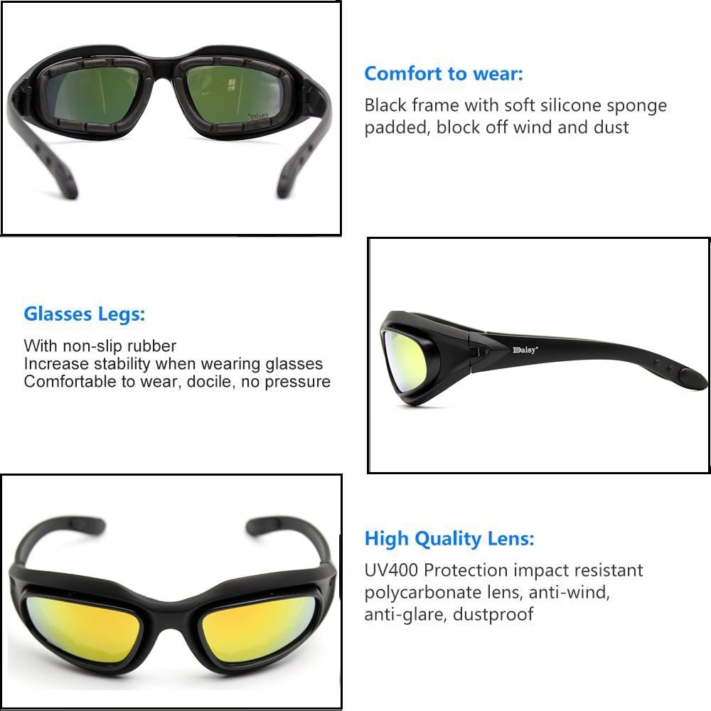 esportes ao ar livre oculos polarizados tatico 04