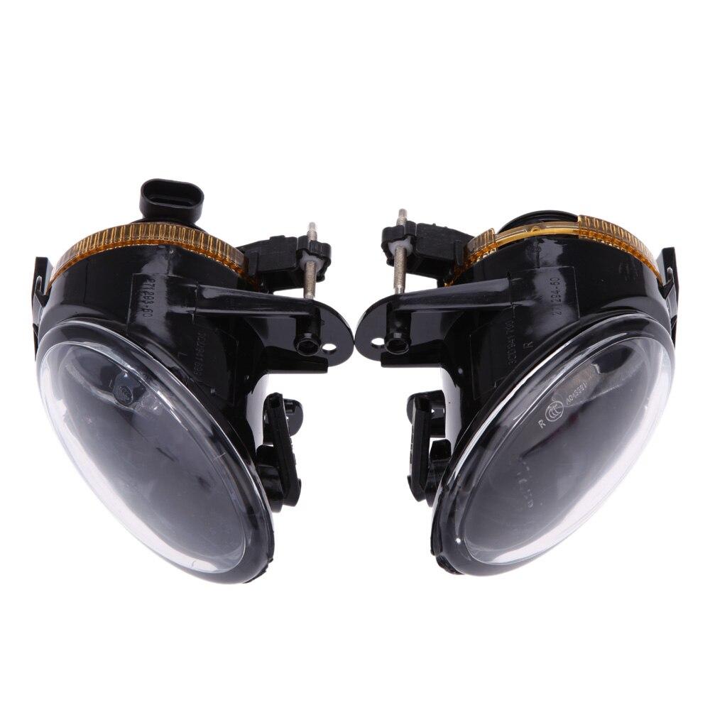 Par lh & rh amortecedor dianteiro nevoeiro luzes do carro lâmpada de condução para vw passat b6 2006 2007 2008