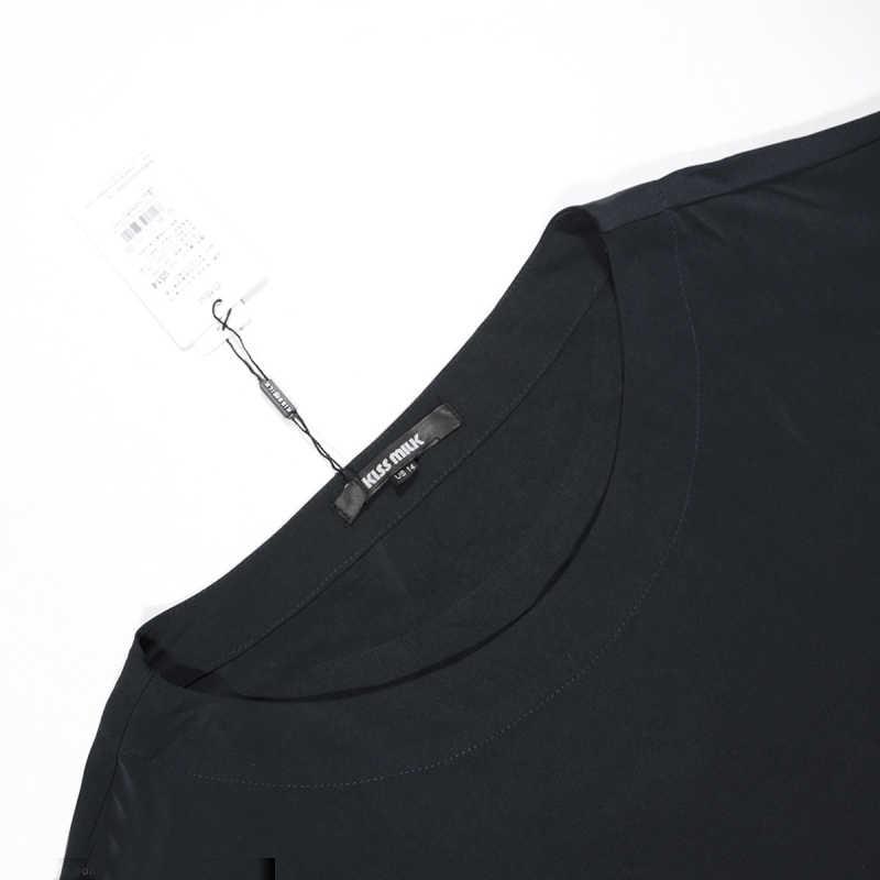 Moda Mujer 2020 Blusas Mujer De Talla Grande Mujer Oficina Senora Blusas 7xl 6xl 5xl Negro Ropa Femenina Blusas Elegantes Grandes Blusas Y Camisas Aliexpress