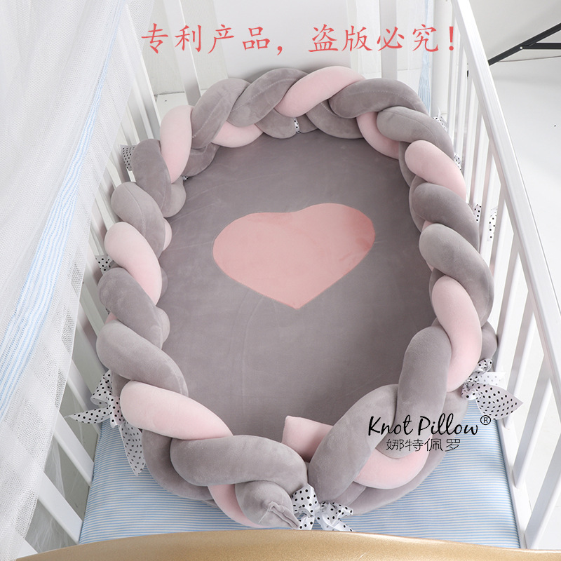 Ins Infant Bed Portable Soft And Breathable Newborn Multifucntiomal Baby Bionic Bed