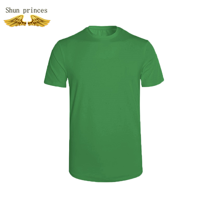 T shirt men Round collar cotton Pure color t shirt style outdoor leisure t shirt running pokemon t shirts men t shirt new tide