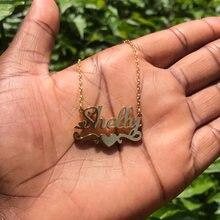 Ожерелье чокер женское из нержавеющей стали