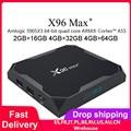 NEWEST Android 9.0 TV Box X96 Max Plus Amlogic S905x3 8K Smart Media Player 4GB RAM 64GB ROM X96Max Set top Box QuadCore 5G Wifi