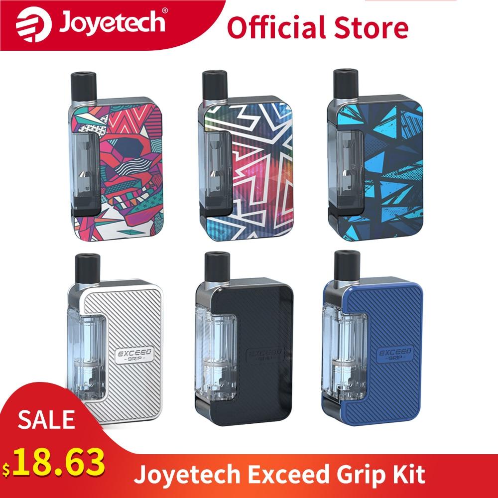 [Official Store] Original Joyetech Exceed Grip Pod System Kit Built In 1000mAh Battery Fit EX-M Mesh Coil E-Cigarette Vape Kit