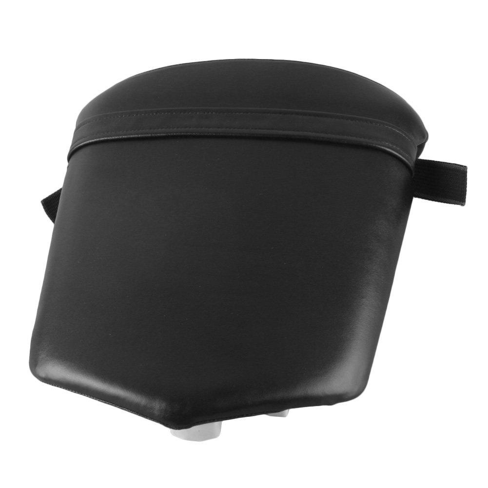 Motorcycle Soft Rear Back Cushion Passenger <font><b>Seat</b></font> Pillion Cover <font><b>For</b></font> <font><b>Yamaha</b></font> YZF <font><b>R1</b></font> <font><b>2000</b></font> 2001 Black image