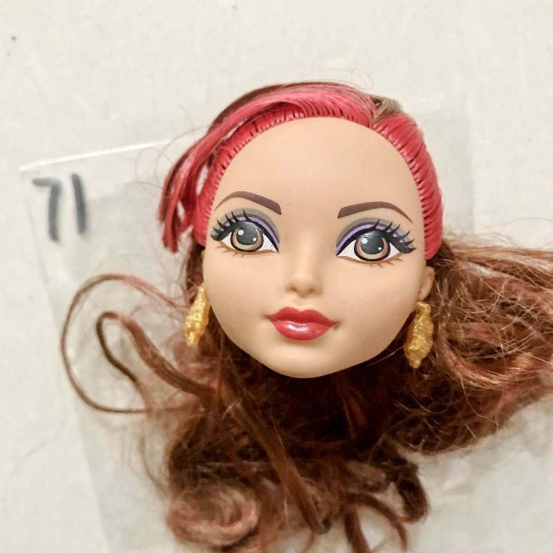 1pc New Toy! High Quality Fashion Girl Dolls Head Diy Dolls Collection Toys Gifts