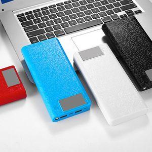Image 2 - QC 3,0 Dual USB + Type C PD 8x18650 аккумулятор, DIY Power Bank Box, светодиодное быстрое зарядное устройство для iPhone, Samsung, сотового телефона, планшета, 37MC