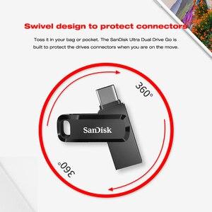 Image 3 - Sandisk clé USB Ultra double OTG, SDDDC3, bâton de 128 go, 64 go, 32 go, clé stylo USB 3.1, pour stockage clé USB type c