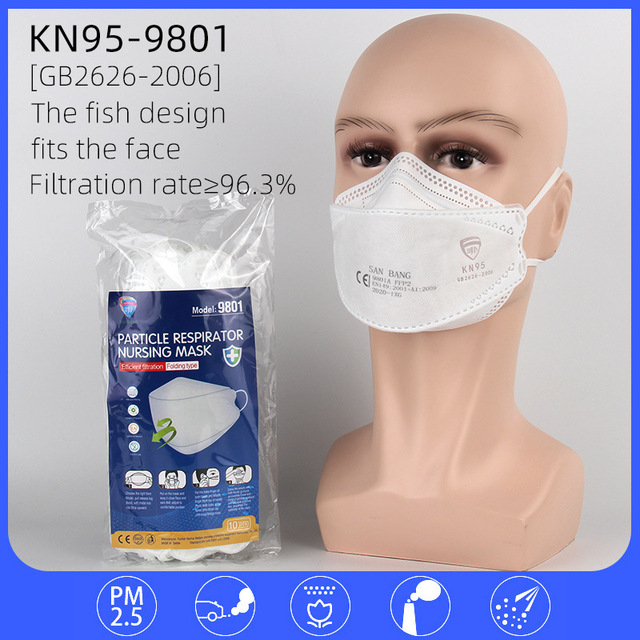 6-layer non-woven protective mask