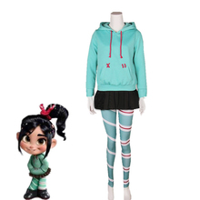 Customize Wreck-It Ralph Cosplay Costume Vanellope Von Schwe