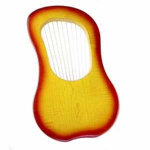 Image 3 - ヤモリ 15 ストリング木製竪琴ハープ金属弦カナダカエデ弦楽器とキャリーバッグ
