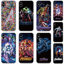 Avengers Logo Bumper Phone Case For BlackBerry-Priv KEYone KEY 2 Motion Passport Q30 Z10 Z30 Q10 DTEK50 DTEK60 DTEK70 Cover Capa cheap JURENHE Fitted Case Mobile Phone Bags Cases Floral Matte Plain Quotes Messages Animal Transparent Geometric Anti-knock