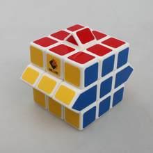 Nuovo cubetwist tre strati deformazione galleria bianco cubo magico, 3x3x3 variazione deformazione cubo magico giocattolo regalo per bambini