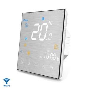 Image 4 - Wifi termostato inteligente temperatura controle remoto/voz controlador para água/piso elétrico aquecimento água/caldeira a gás alexa tuya