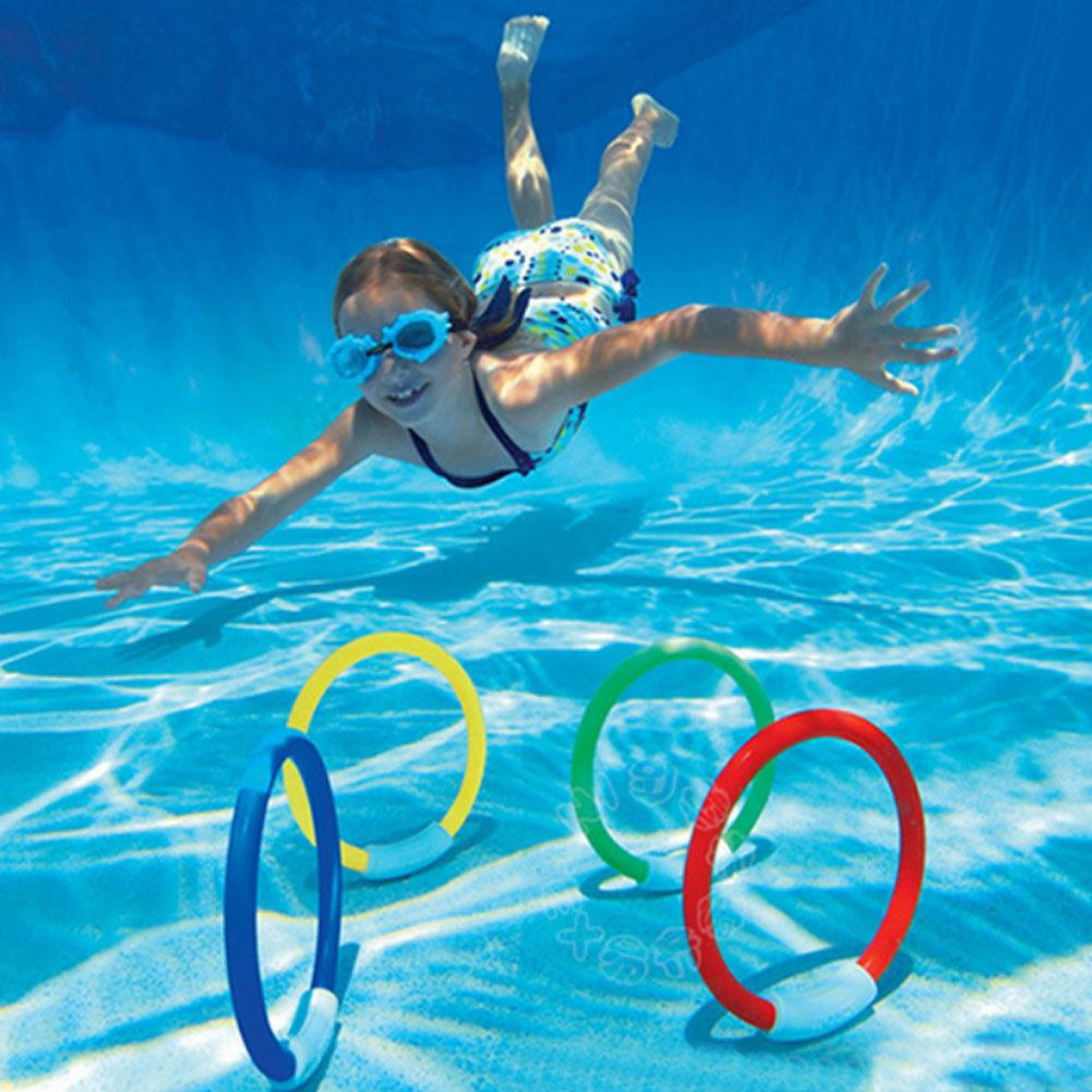 Diving Ring Sea Plant Rod Summer Swimming Pool Underwater Game Throwing Find Toys