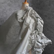 New Silver Super Dense metal wire Mesh Fabric DIY Dress Clothes outline design Craft Handmade Original Modelling Designer