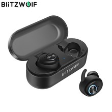 Blitzwolf BW-FYE2 Tws True Draadloze Koptelefoon Bluetooth V5.0 Oordopjes In-Ear Bluetooth Oortelefoon Sport Oortelefoon Hi-Fi Stereo Geluid