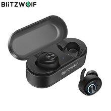 Blitzwolf BW-FYE2 Tws True Draadloze Koptelefoon Bluetooth V5.0 Oordopjes Sport Oortelefoon Hi-Fi Stereo Geluid Gesprekken Oortelefoon