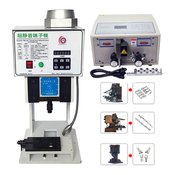 SWT 508C Peeling Striping Cutting Machine 1.5T terminal crimping machine automatic cutting cable crimping and peeling with mold 220 v automatic wire striping cutting machine 0 1 4 5 mm2 computer controlled swt508 sd
