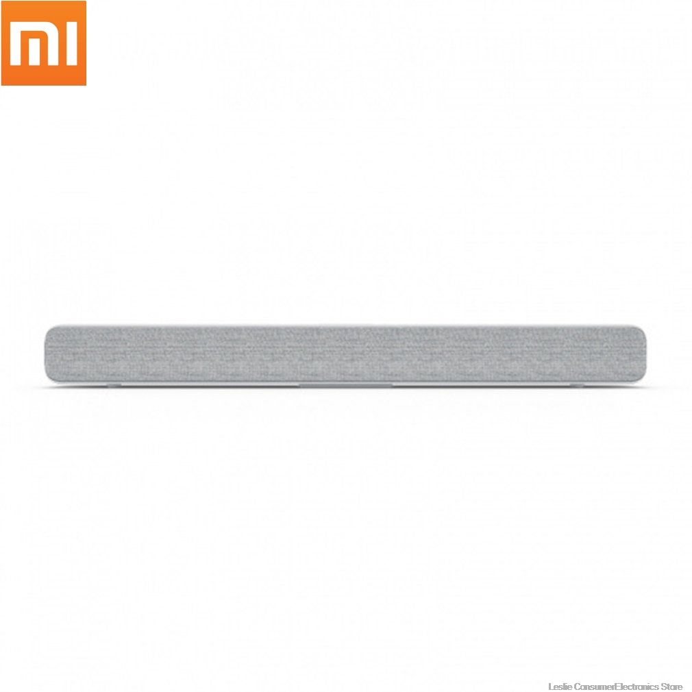Xiaomi barre de son TV sans fil haut-parleur Bluetooth tissu élégant barre de son Support Bluetooth lecture optique SPDIF AUX pour la maison