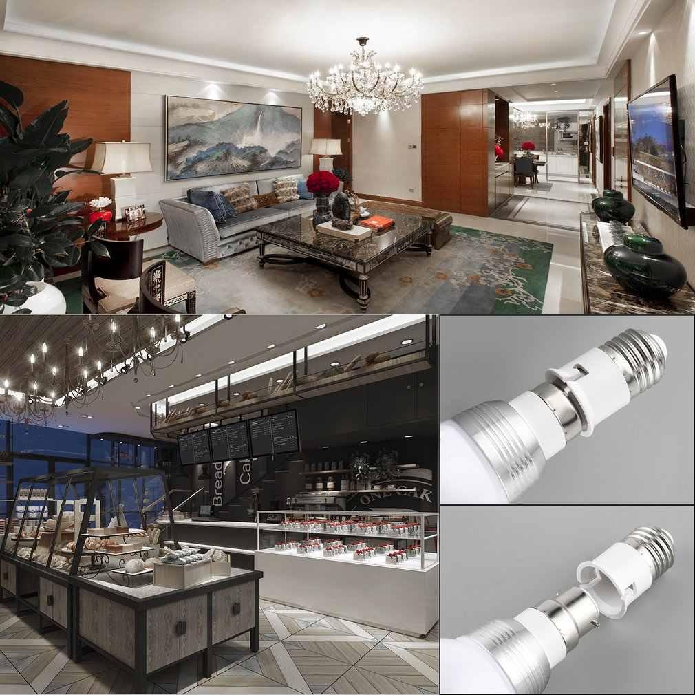 Wereldwijd 1 Pcs E27 Om B22 Socket Light Bulb Lamp Holder Adapter Plug Extender Lampholderbrand Nieuwe