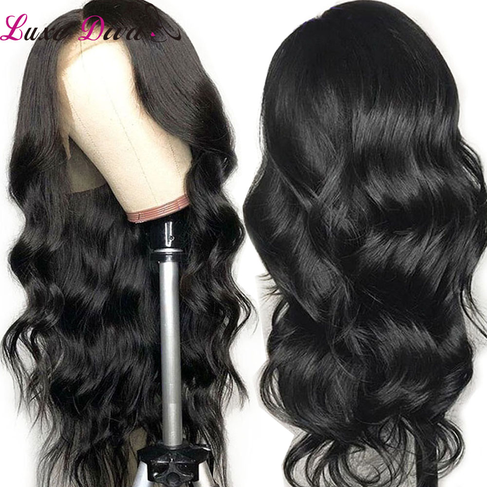Luxediva 360 Lace Frontal Wig For Women Peruvian Body Wave Human Hair Wigs Non-Remy Hair Lace Wigs With Pre Plucked Baby Hair