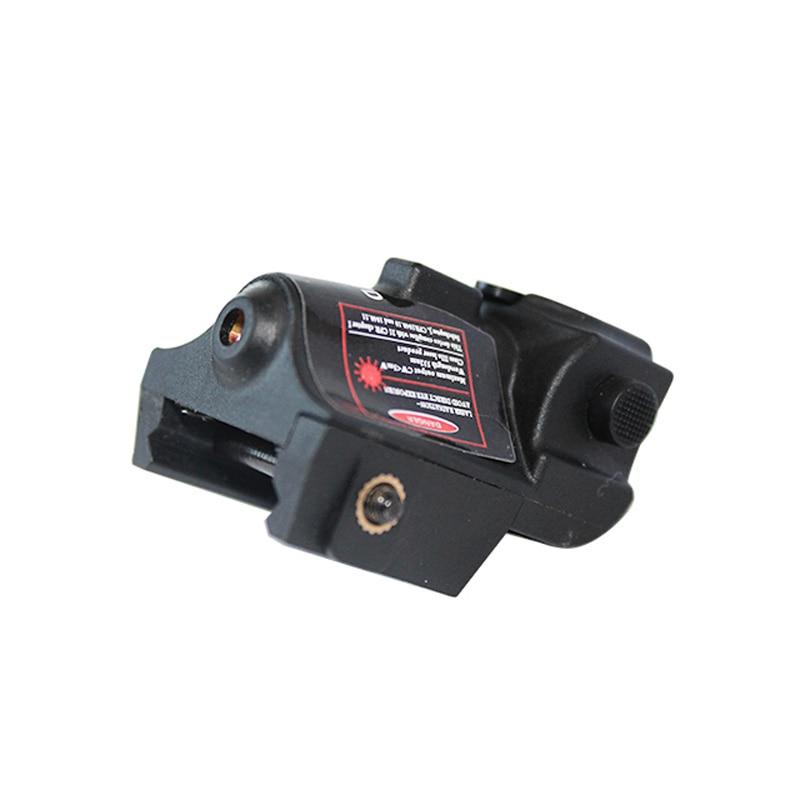 Laserspeed Mini Green Laser Sight Tactical Glock Accessories Beretta 92 Air Rifle Mira Laser Red 9mm Gun Sight for Shooting-3
