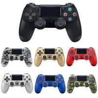 Bluetooth sem fio/com fio joystick para ps4 controlador apto para mando ps4 console para playstation dualshock 4 gamepad para ps3