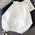 Негабаритных 12 Цвета кофты осень женская дутая куртка с капюшоном Женский 2020 хлопковая плотная теплая верхняя одежда с капюшоном, осенняя ж...