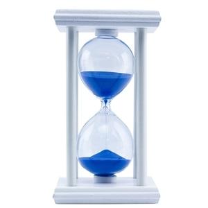 30 minut klepsydra do kuchni szkolnej nowoczesne drewniane klepsydra klepsydra klepsydra herbata zegary prezent do dekoracji domu