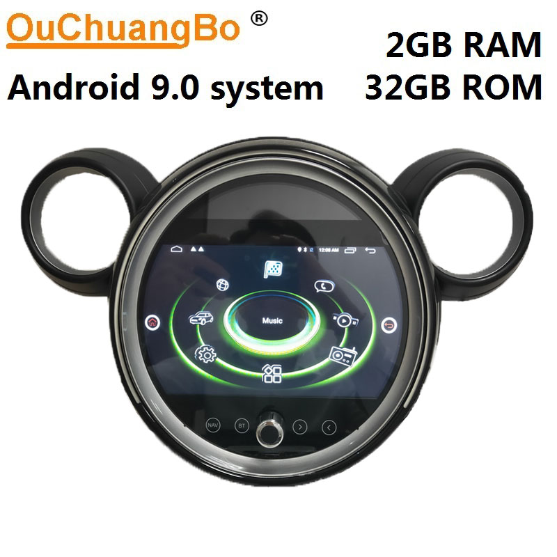 Ouchuangbo gps radio recorder for mini S COUNTRYMAN R60 paceman R61 2007-2016 with Android 9.0 media player 2GB+32GB