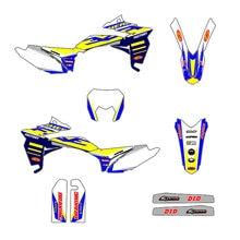 Team Graphic Sticker Decal Kit DECO For Sherco SE SEF SEF-R SE-R SER 125 250 300 450 2013 2014 2015 2016