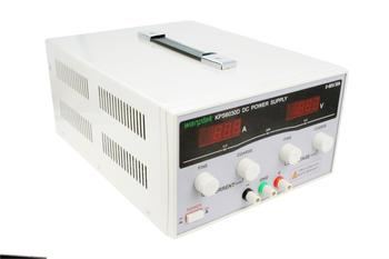 KPS6030D High precision High Power Adjustable LED Dual Display Switching DC power supply 220V / 110v EU 60V/30A KPS 500w amplifier switching power supply board dual voltage psu 60v