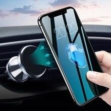 GETIHU מכונית טלפון בעל מגנטי אוויר Vent הר נייד טלפון Stand מגנט GPS תמיכה עבור iPhone 12 11 פרו X מקסימום Xiaomi HuaweI