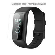 2 шт Защитная пленка из термополиуретана мягкая Взрывозащищенная защитная пленка для Xiaomi Huami Amazfit COR2 Bip Bit Bracelet