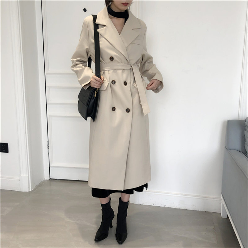 HziriP Korea Women Chic 2019 High Quality Slender Fashion Lengthened Casual All Match Loose Office Lady Elegant Fresh Blazers