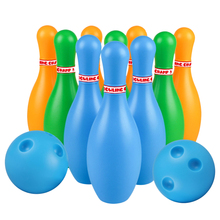 Bowling-Toys Kids for Children Toddlers Random-Color Pins Funny Plastic Funny