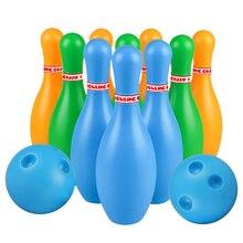 1 Набор, детские пластиковые шарики для боулинга