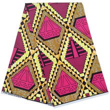 2019 Ghana African Wax Prints Fabric 6 Yards Ankara dutch veritable wax 100% cotton 2019 dutch wax print fabric ankara fabrics veritable african wax prints fabrics 100