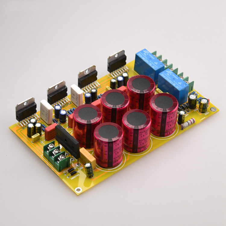 Assemble TDA7293 subwoofer power <font><b>amplifier</b></font> board <font><b>2.1</b></font> channel 80W*2+150W with protection <font><b>amplifier</b></font> audio board New image
