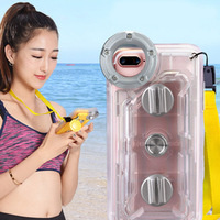 HD Diving Camera Phone Waterproof Case High touches Strong Seal Case Cover GDeals