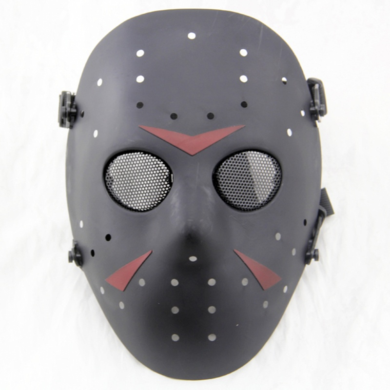 Jason Hockey Skull Full Face Tactical Mask Paintball Airsoft CS Wargame Equipment Military Army Cosplay Halloween Party Masks