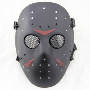 цена на Jason Hockey Skull Full Face Tactical Mask Paintball Airsoft CS Wargame Equipment Military Army Cosplay Halloween Party Masks