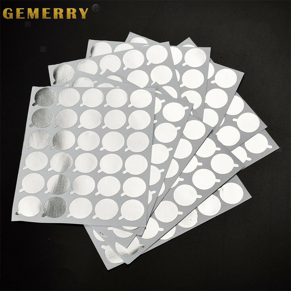 300 Pcs Disposable Sticker Pallet Eyelash Glue Holder Paper Eyelash Extension Pads Sticker Stand On Lash Supplies 2.1cm